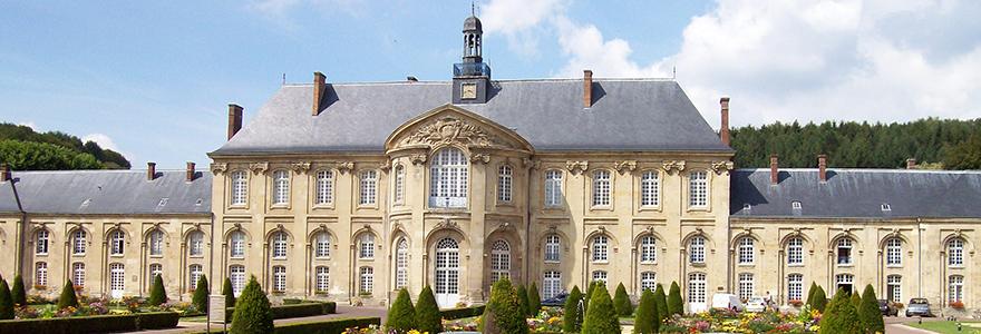 Le palais abbatial